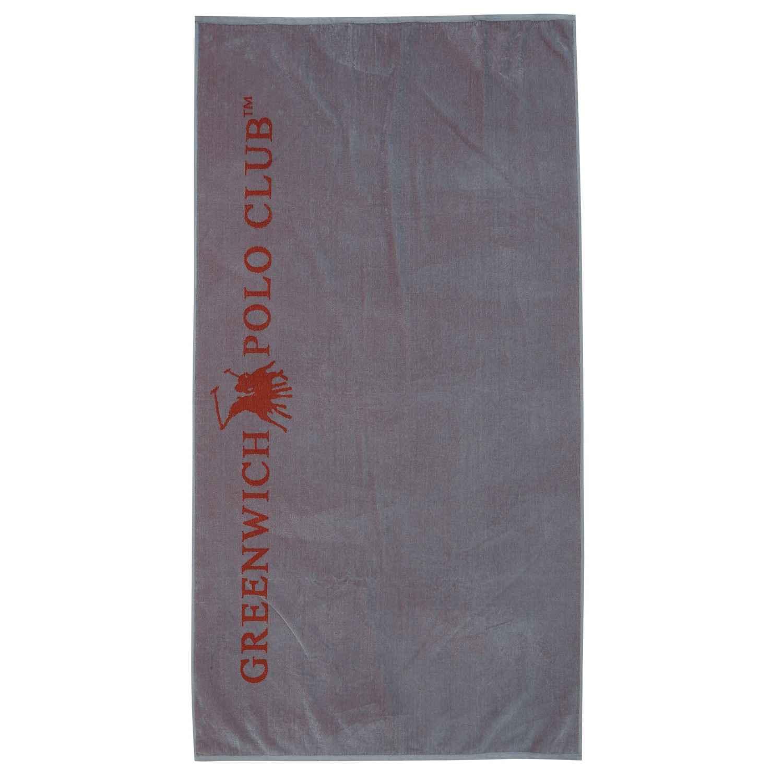 Πετσέτα Θαλάσσης 2806 Grey-Red G.P.C. Θαλάσσης 90x170cm