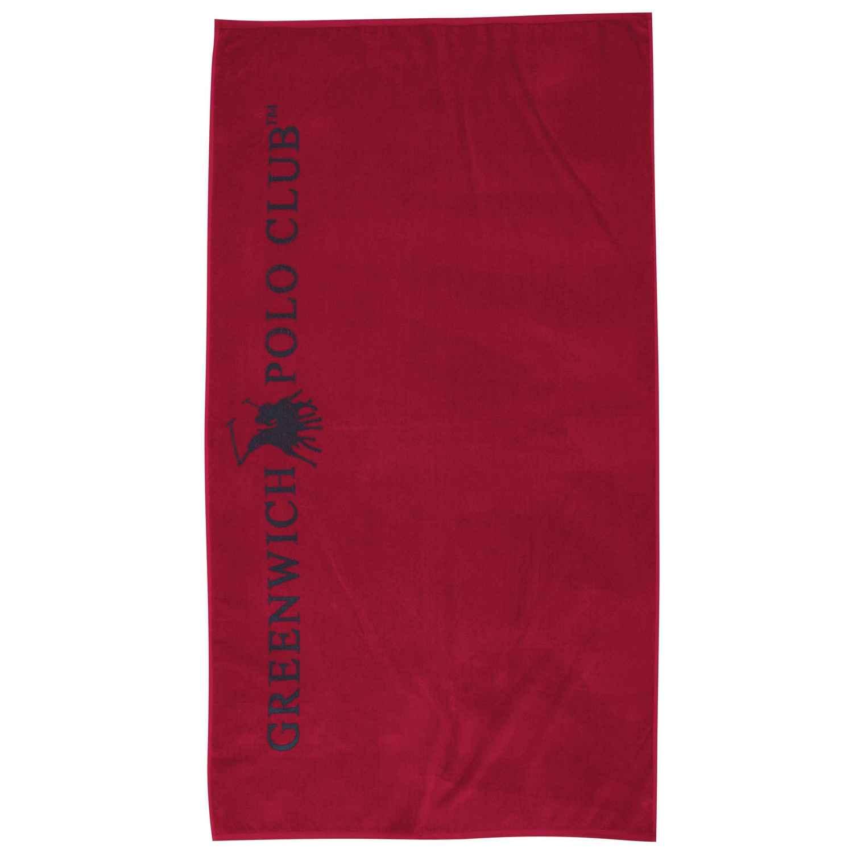 Πετσέτα Θαλάσσης 2805 Red G.P.C. Θαλάσσης 90x170cm