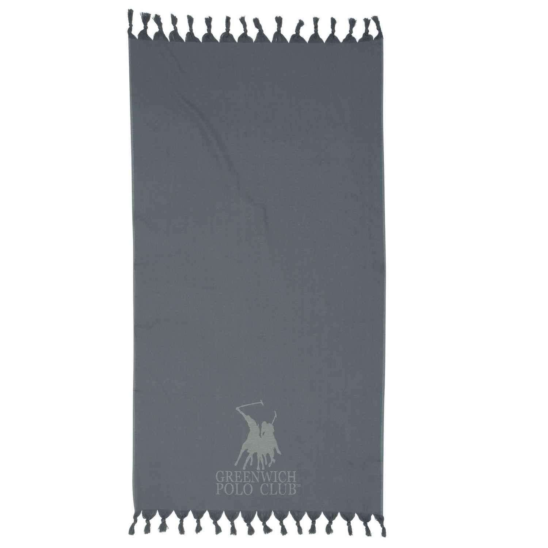 Πετσέτα Θαλάσσης – Παρεό 2816 Grey G.P.C. Θαλάσσης 90x170cm