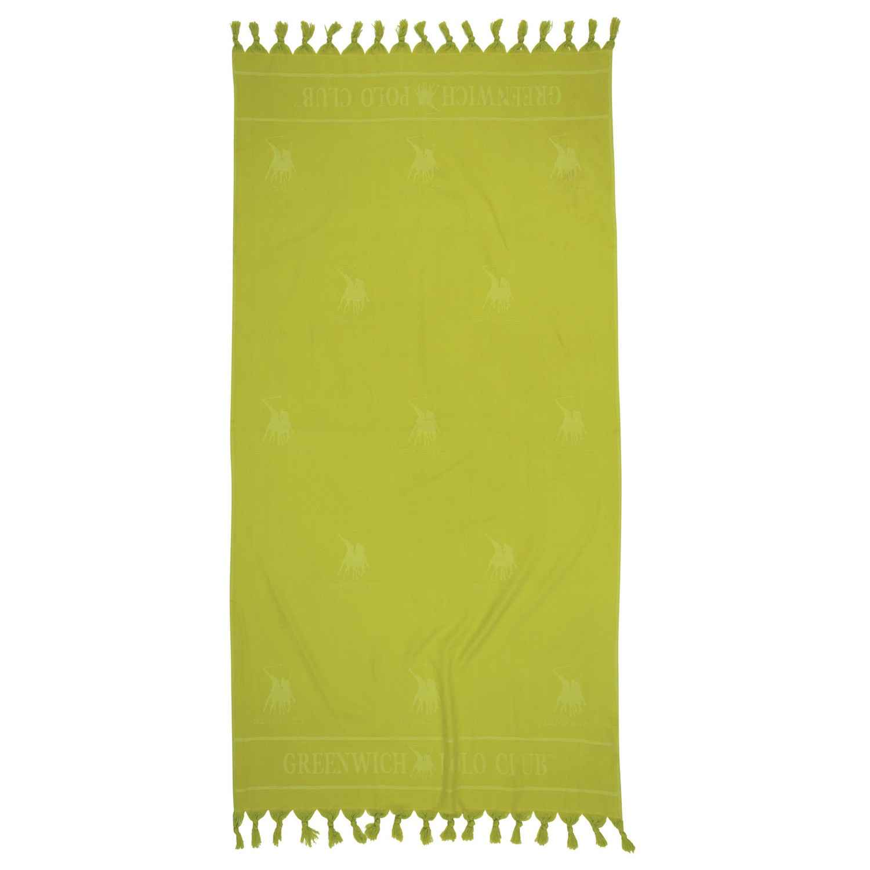 Πετσέτα Θαλάσσης – Παρεό 2819 Light Green G.P.C. Θαλάσσης 90x170cm