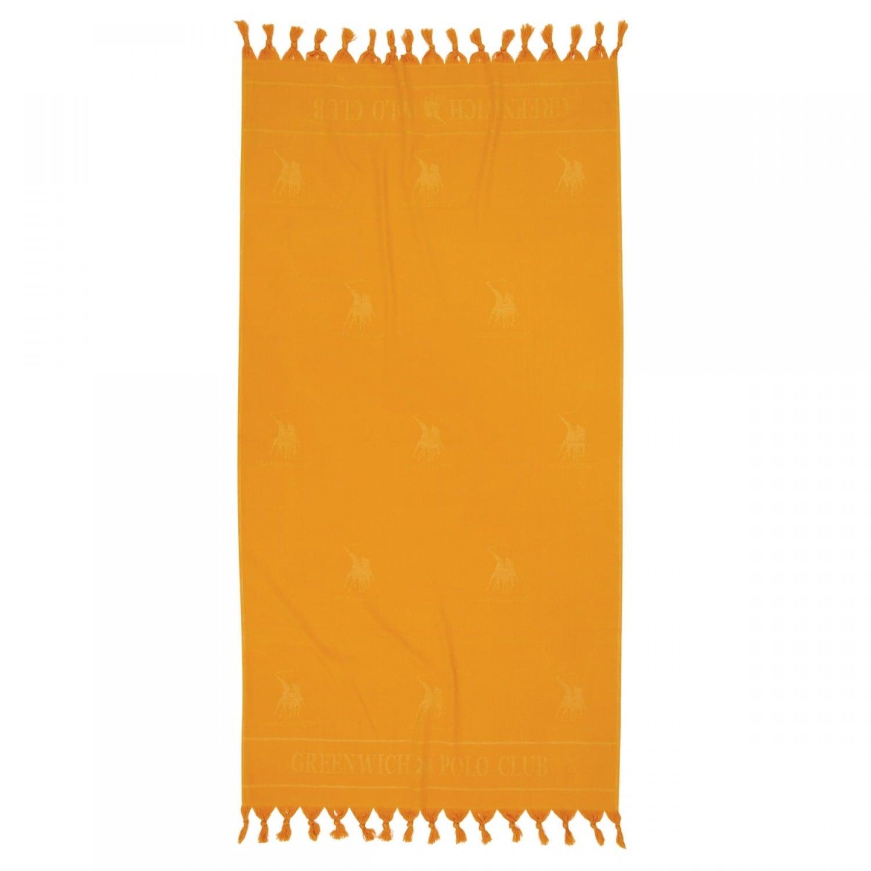 Πετσέτα Θαλάσσης – Παρεό 2820 Orange G.P.C. Θαλάσσης 90x170cm