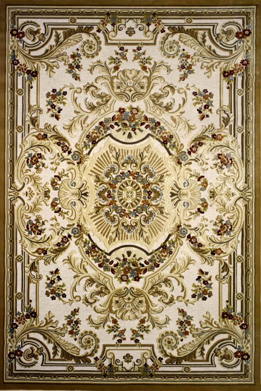Χαλί Luxury 12268-670 Gold-Ecru 140X200