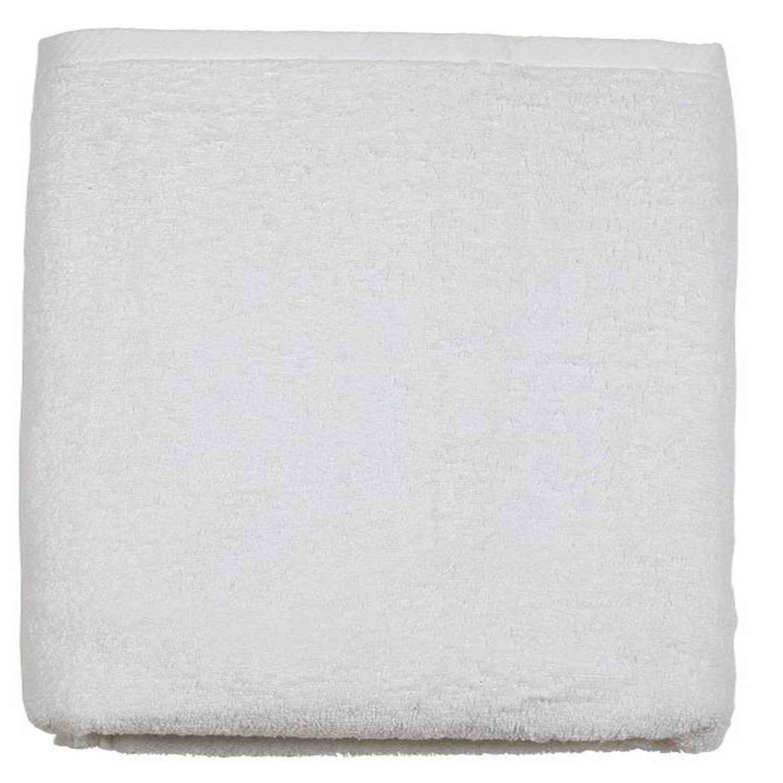 Πετσέτα Μπάνιου Ξενοδοχείου DA White 550gr 100% Βαμβάκι Προσώπου 50x100cm