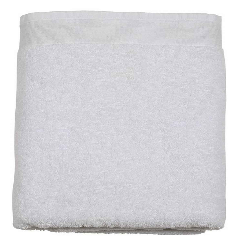 Πετσέτα Μπάνιου Ξενοδοχείου FA White 600gr 100% Βαμβάκι Προσώπου 50x100cm