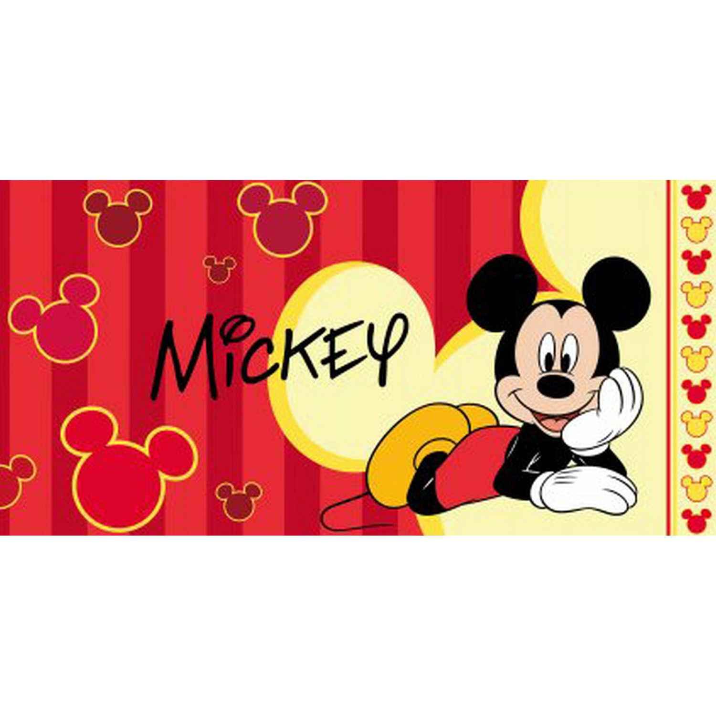 Πετσέτα Παιδική Mickey 6 Multi Viopros Σώματος 70x140cm
