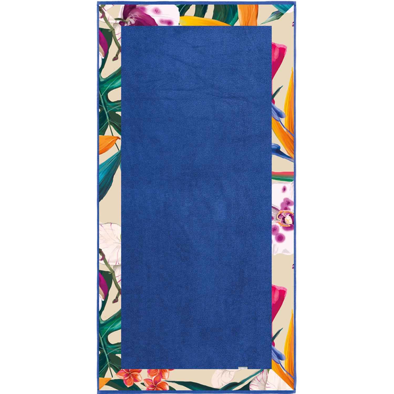 Πετσέτα Θαλάσσης Topless Blue Guy Laroche Θαλάσσης 85x170cm