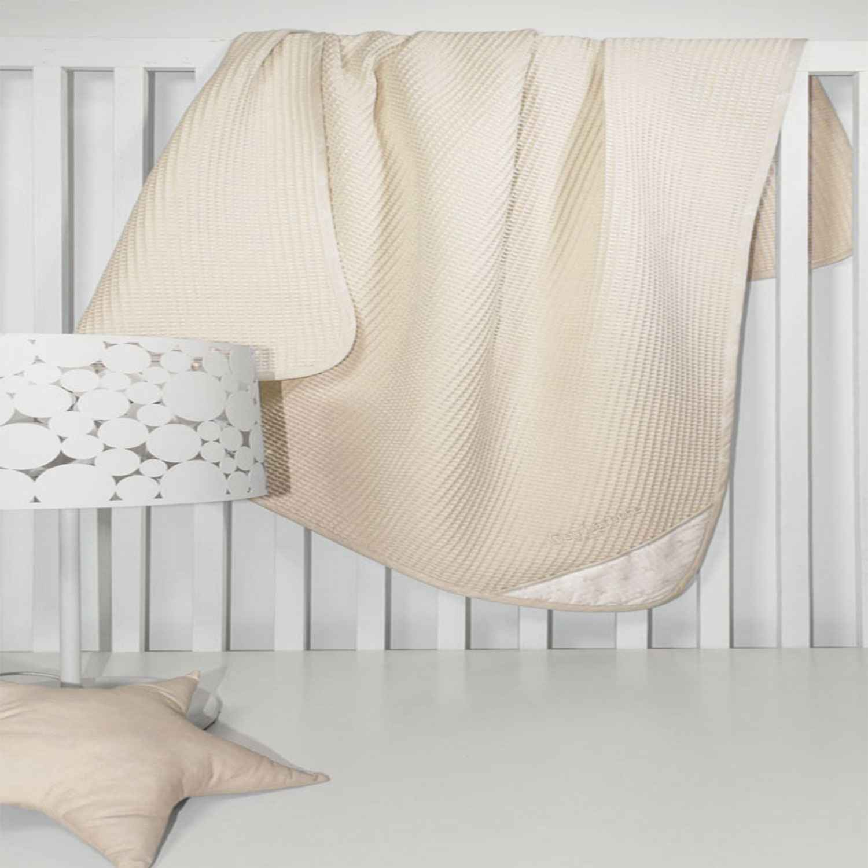 Κουβέρτα Πικέ Heaven Natural Guy Laroche Κούνιας 110x150cm