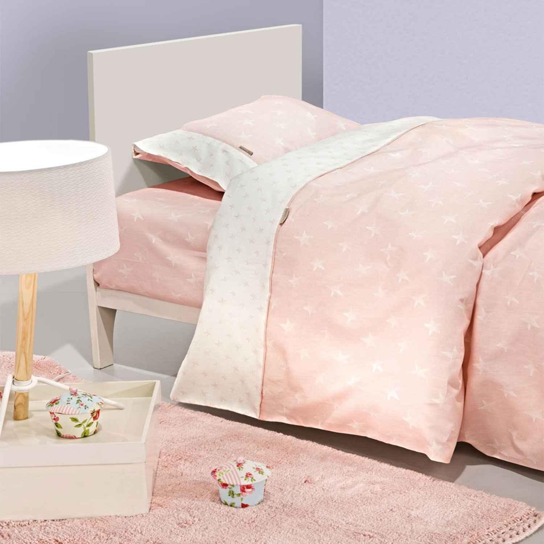 Παπλωματοθήκη Παιδική Heaven Pink Guy Laroche Μονό 160x220cm
