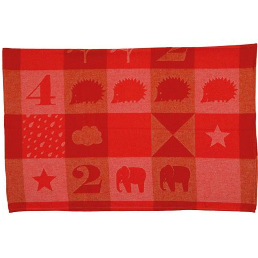 Κουβέρτα Βρεφική DF-IDA 2810-11 Red Vesta Home Κούνιας 100x140cm