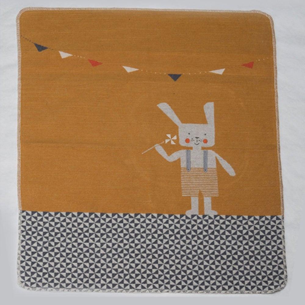 Κουβέρτα Βρεφική DF-JUW 6846-35 Orange Vesta Home ΑΓΚΑΛΙΑΣ 70x90cm