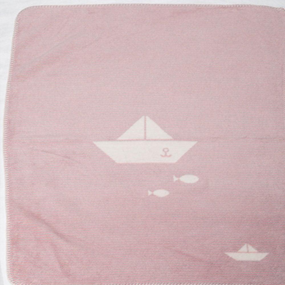 Κουβέρτα Βρεφική DF-Panda 2201-14 Pink Vesta Home ΑΓΚΑΛΙΑΣ 75x100cm