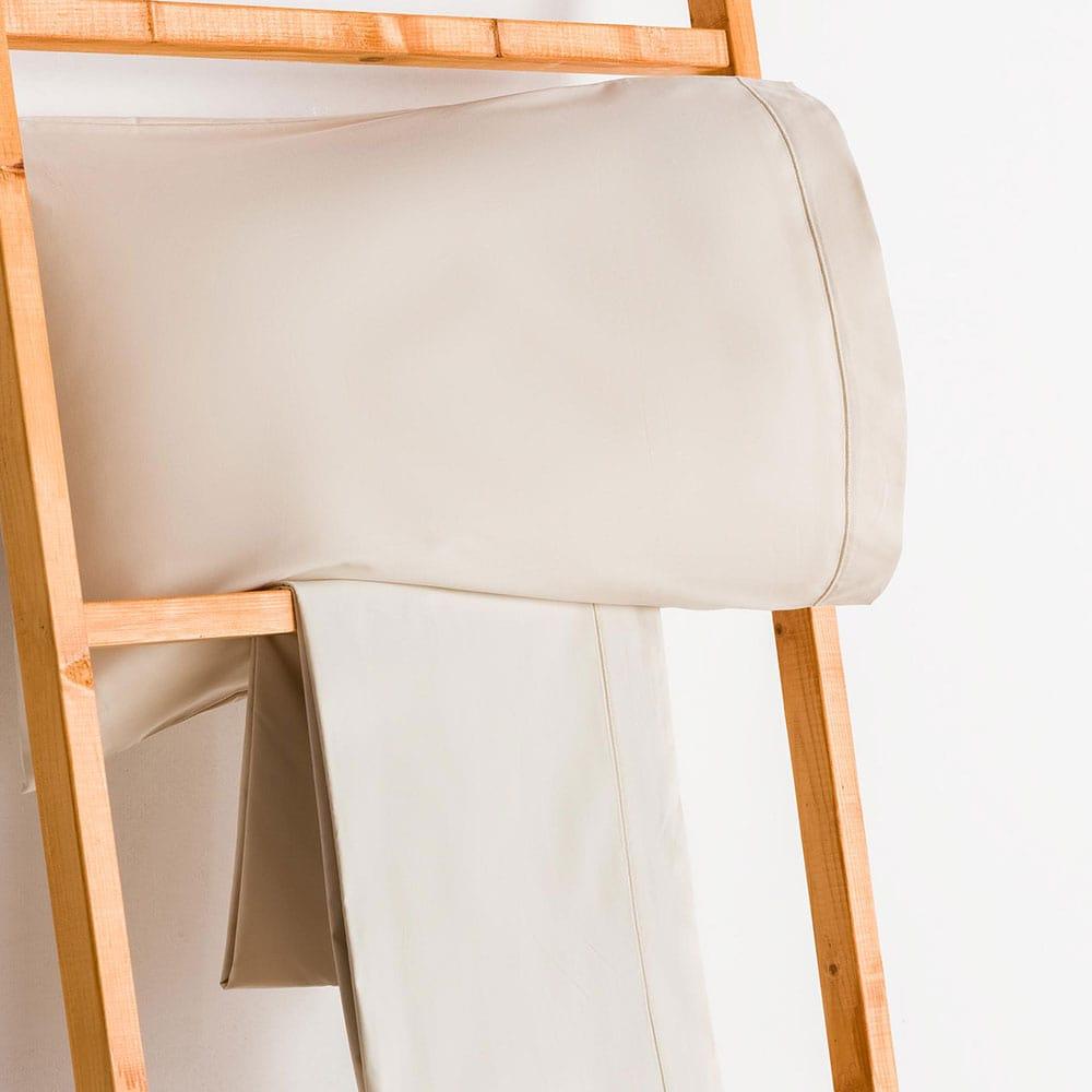 Σεντόνι Με Λάστιχο Beige Vesta Home King Size 180x230cm