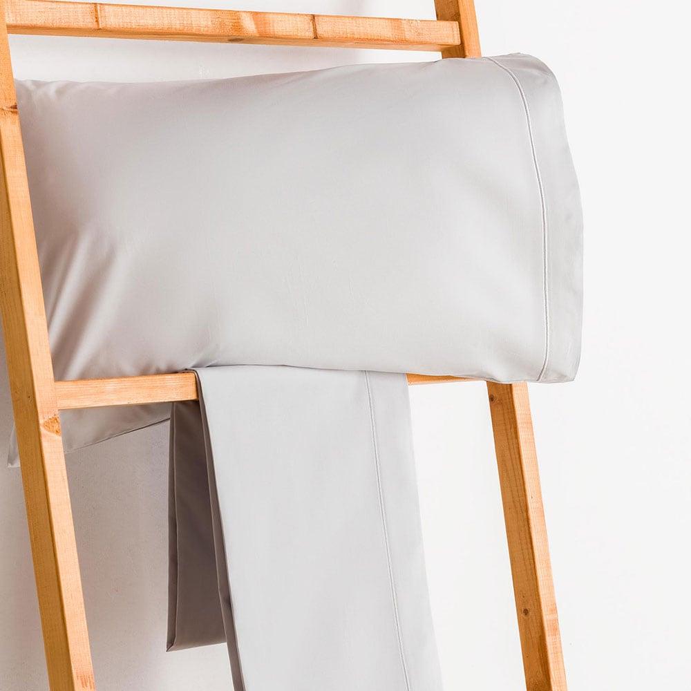 Σεντόνι Με Λάστιχο Grey Vesta Home Μονό 100x230cm