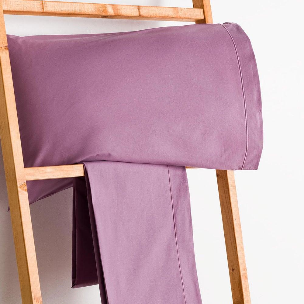 Σεντόνι Με Λάστιχο Purple Vesta Home Ημίδιπλο 120x230cm