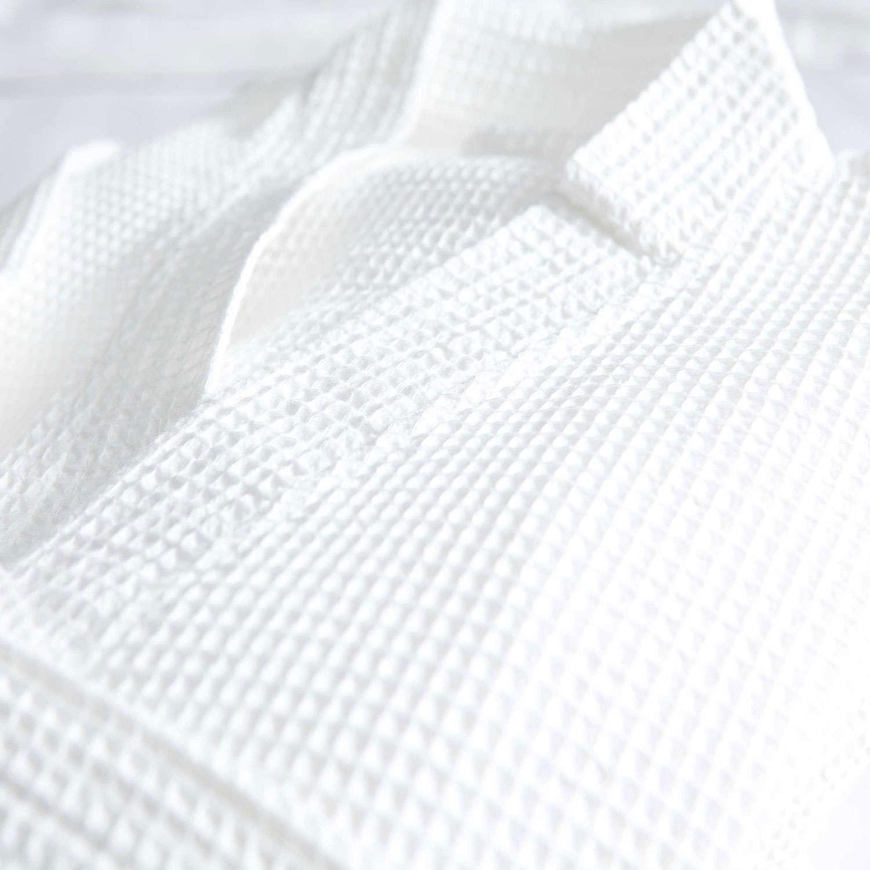 Μπουρνούζι Ξενοδοχείου Πικέ White 100% Βαμβάκι 300gsm Large L