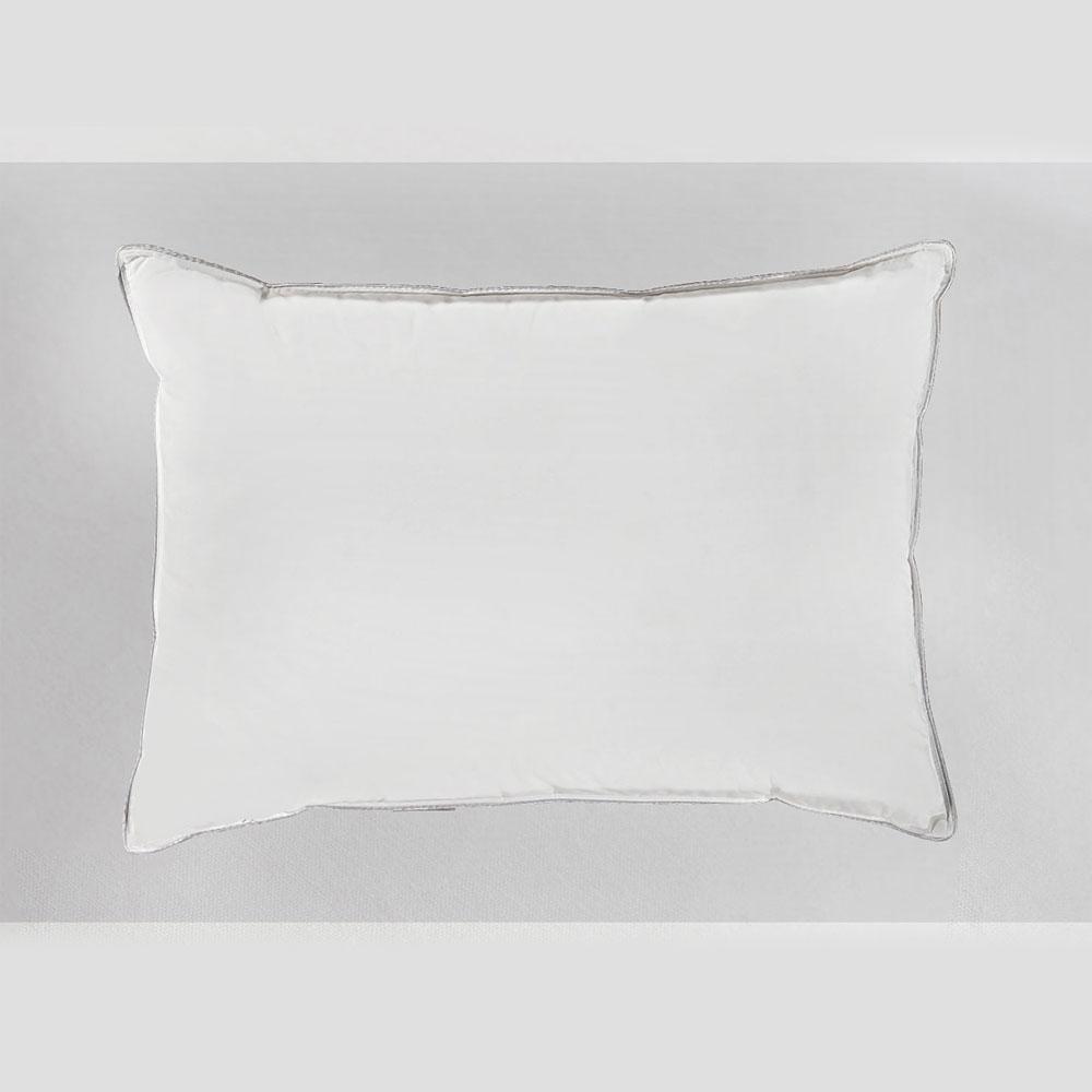 Μαξιλάρι Ξενοδοχείου White 233 Kλωστές 100% Βαμβάκι Περιεχόμενο Ballfiber 700gr. 50Χ70 50x70cm