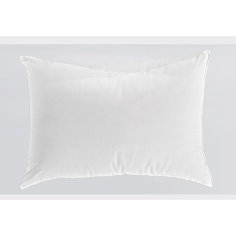 Μαξιλάρι Ξενοδοχείου White 144 Κλωστές 50% Βαμβάκι 50% Πολυέστερ Περιεχόμενο Hollowfiber 650gr. 50Χ70 50x70cm