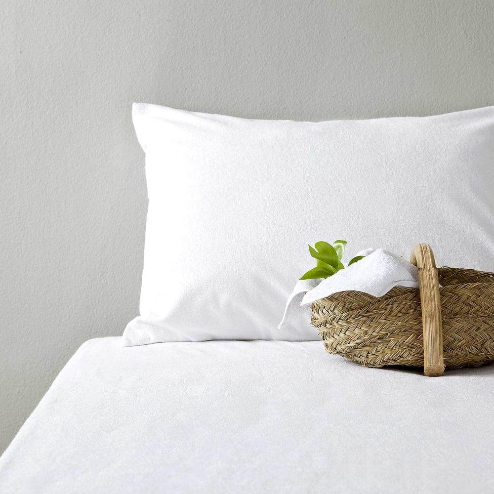 Μαξιλαροθήκη Ξενοδοχείου Φάκελος White 200 Κλωστές Περκάλι 100% Βαμβάκι Πενιέ 55X75 52x73cm