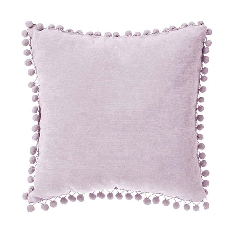 Μαξιλάρι Διακοσμητικό (Με Γέμιση) Pon-Pon 07.131656P Pink 40Χ40 Polyester-Polyamid