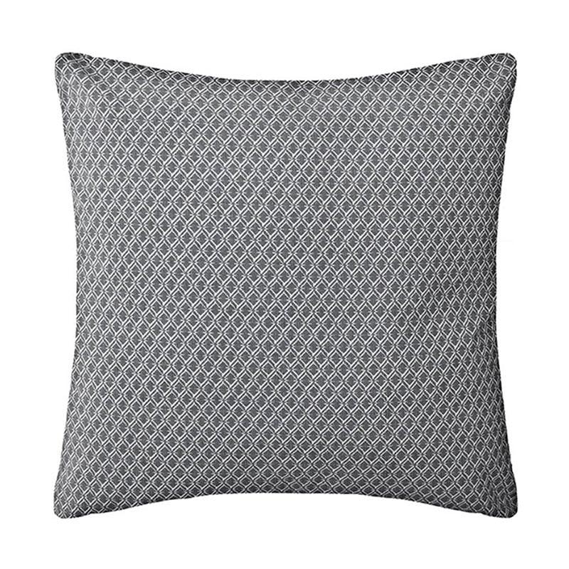 Μαξιλάρι Διακοσμητικό (Με Γέμιση) Otto 07.163960L Grey 40Χ40 Βαμβάκι-Polyester