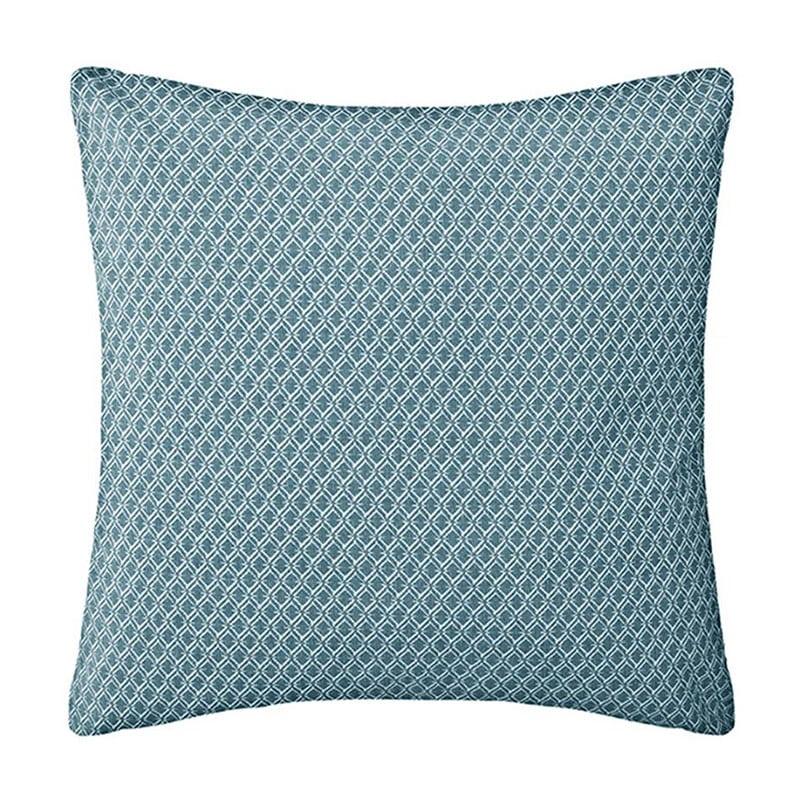 Μαξιλάρι Διακοσμητικό (Με Γέμιση) Otto 07.163960Q Blue 40Χ40 Βαμβάκι-Polyester