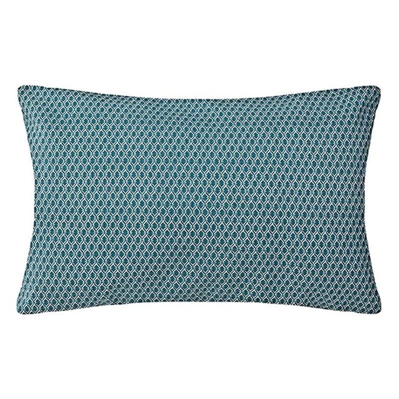 Μαξιλάρι Διακοσμητικό (Με Γέμιση) Otto 07.163961Q Blue 30Χ50 Βαμβάκι-Polyester