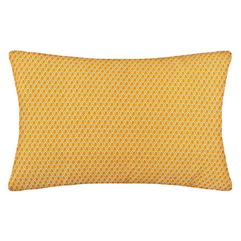 Μαξιλάρι Διακοσμητικό (Με Γέμιση) Otto 07.163961R Yellow 30Χ50 Βαμβάκι-Polyester