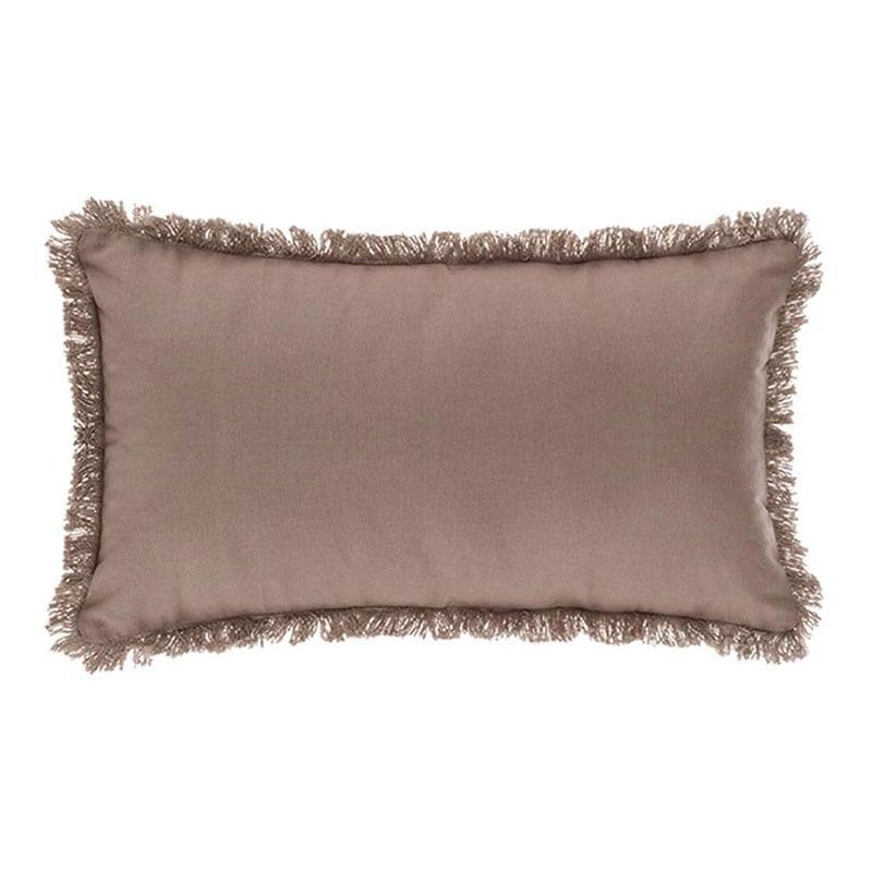 Μαξιλάρι Διακοσμητικό (Με Γέμιση) 07.164053C Taupe 30Χ50 Βαμβάκι-Polyester
