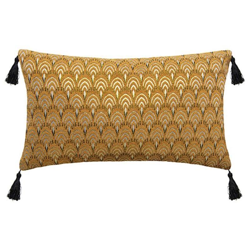 Μαξιλάρι Διακοσμητικό (Με Γέμιση) Luxury 07.168805E Ochre 30Χ50 Βαμβάκι-Polyester