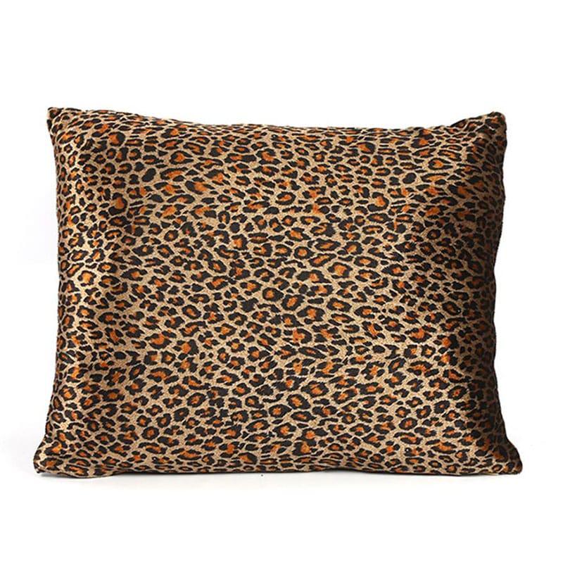 Μαξιλάρι Διακοσμητικό (Με Γέμιση) Leopard 013.777464 Brown 40X30 Βαμβάκι-Polyester