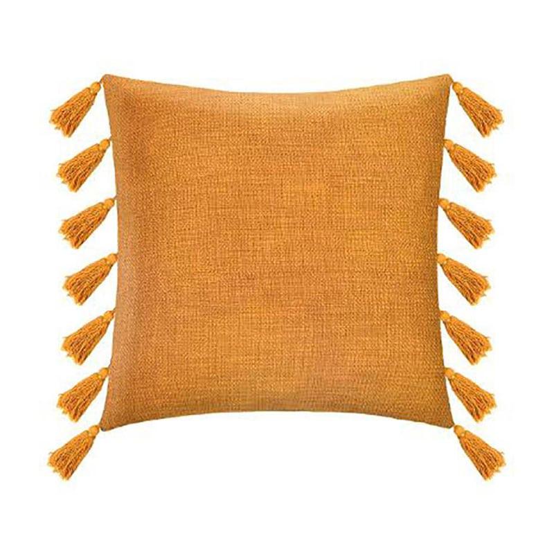 Μαξιλάρι Διακοσμητικό (Με Γέμιση) Με Kρόσια 07.172477R Ochre 50X50 Βαμβάκι-Polyester