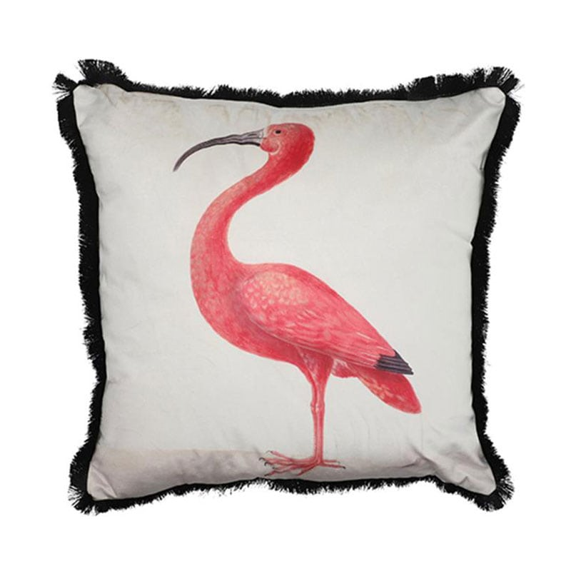 Μαξιλάρι Διακοσμητικό (Με Γέμιση) Flamingo 02.1073608 Pink-White 45X45 Βαμβάκι-Polyester