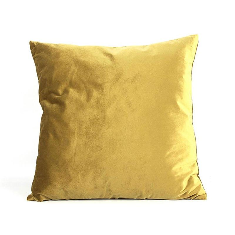 Μαξιλάρι Διακοσμητικό (Με Γέμιση) Carola 013.777461 Gold 50X50 Βαμβάκι-Polyester