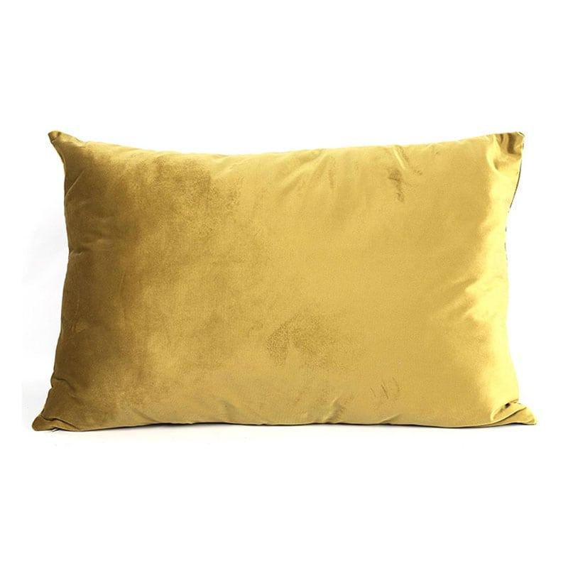 Μαξιλάρι Διακοσμητικό (Με Γέμιση) Carola 013.777475 Gold 60X40 Βαμβάκι-Polyester