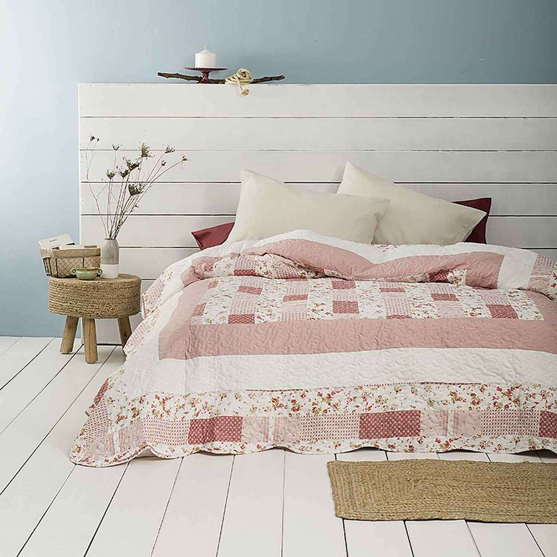 Κουβερλί – Pink Paradise Nima Υπέρδιπλo 220x240cm