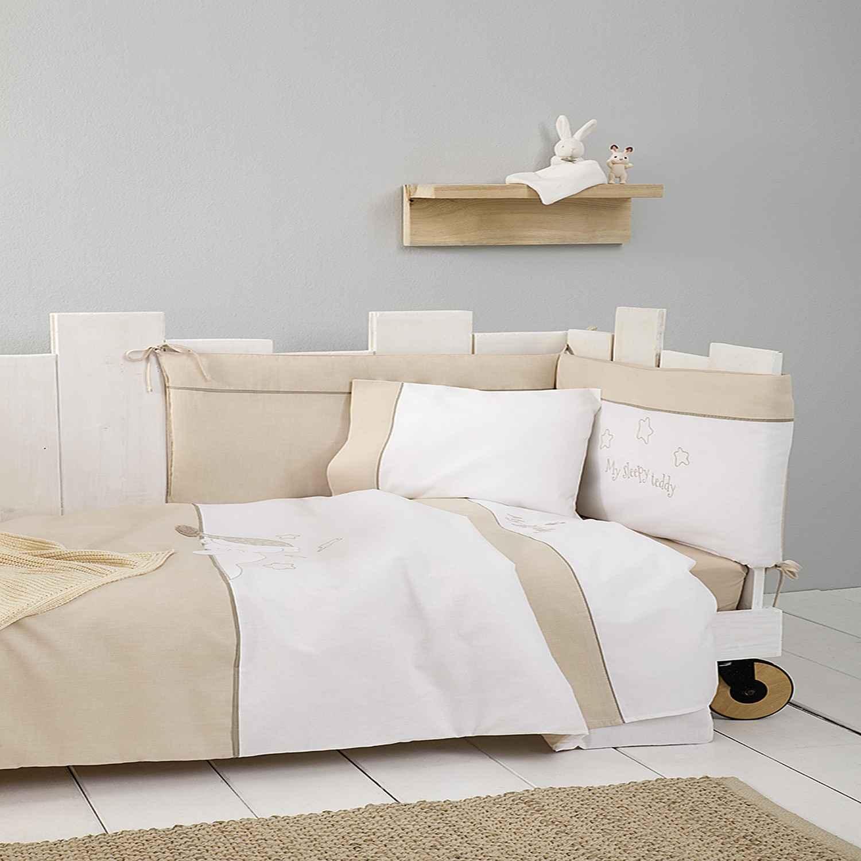 Κουβερλί Κούνιας – Sleepy Teddy Nima 100x140cm