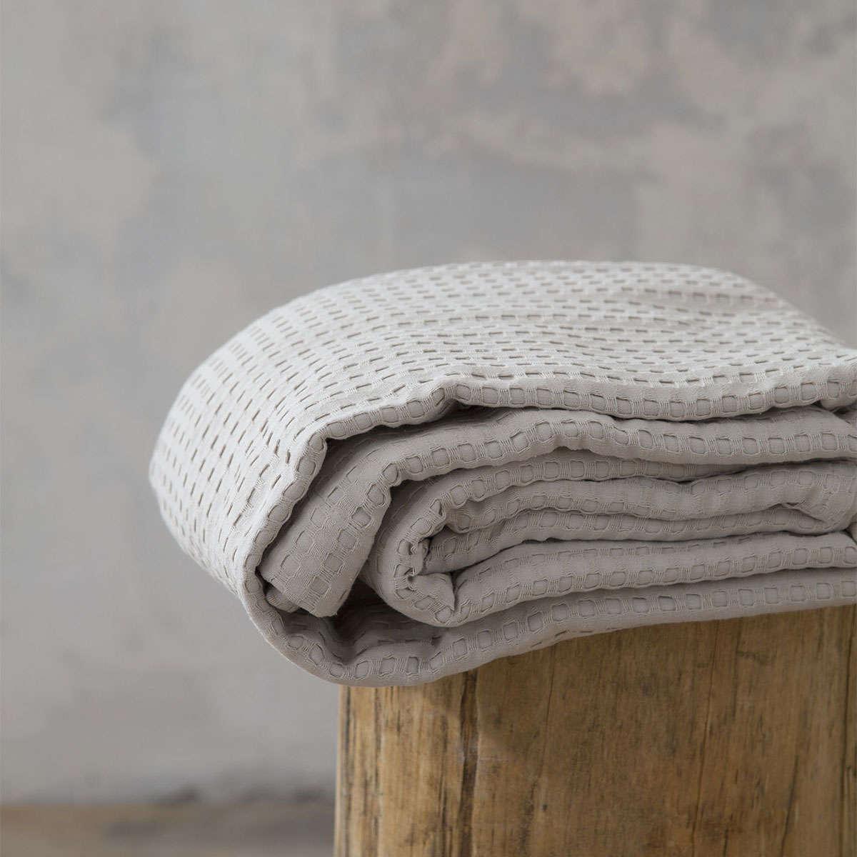 Κουβέρτα Habit – Warm Beige Nima Υπέρδιπλo 220x240cm