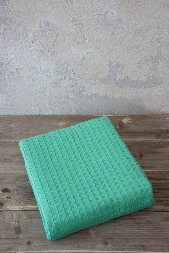 Κουβέρτα Habit Green Nima Μονό