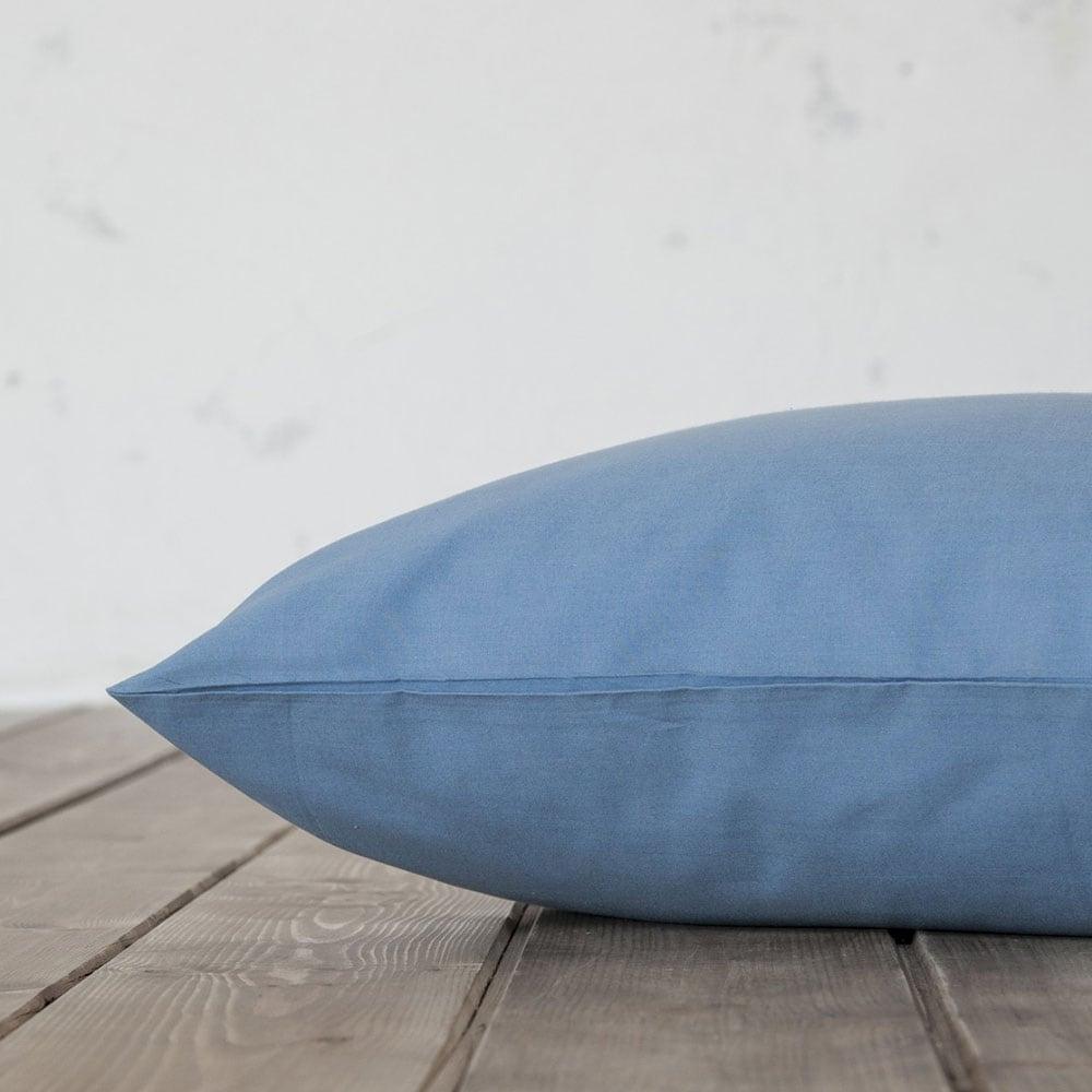 Μαξιλαροθήκες Σετ 2τμχ Unicolors Shadow Blue Nima 50Χ70 50x70cm