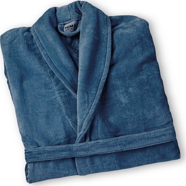 Μπουρνούζι Spa σε Κουτί – Blue Nima Medium M