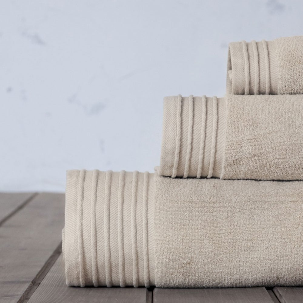 Πετσέτα Feel Fresh Earth Beige Nima Προσώπου 50x100cm