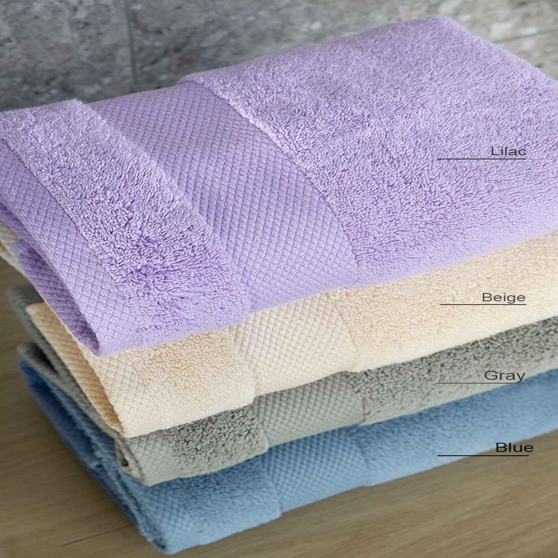 Πετσέτες Σετ 3τμχ. Medea – Blue Nima Σετ Πετσέτες 50x80cm