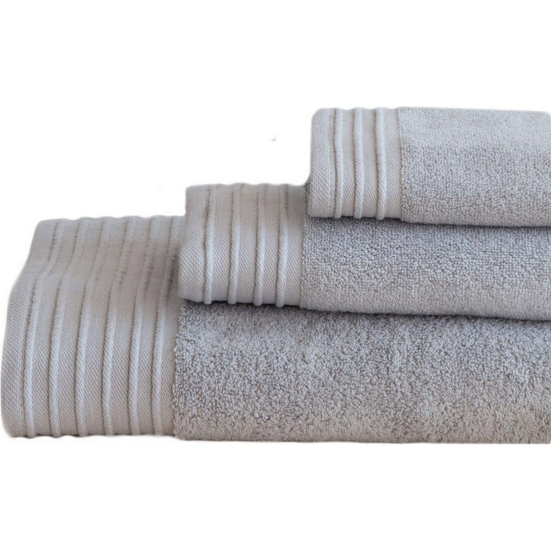 Πετσέτα Feel Fresh – Light Gray Nima Σώματος 90x145cm