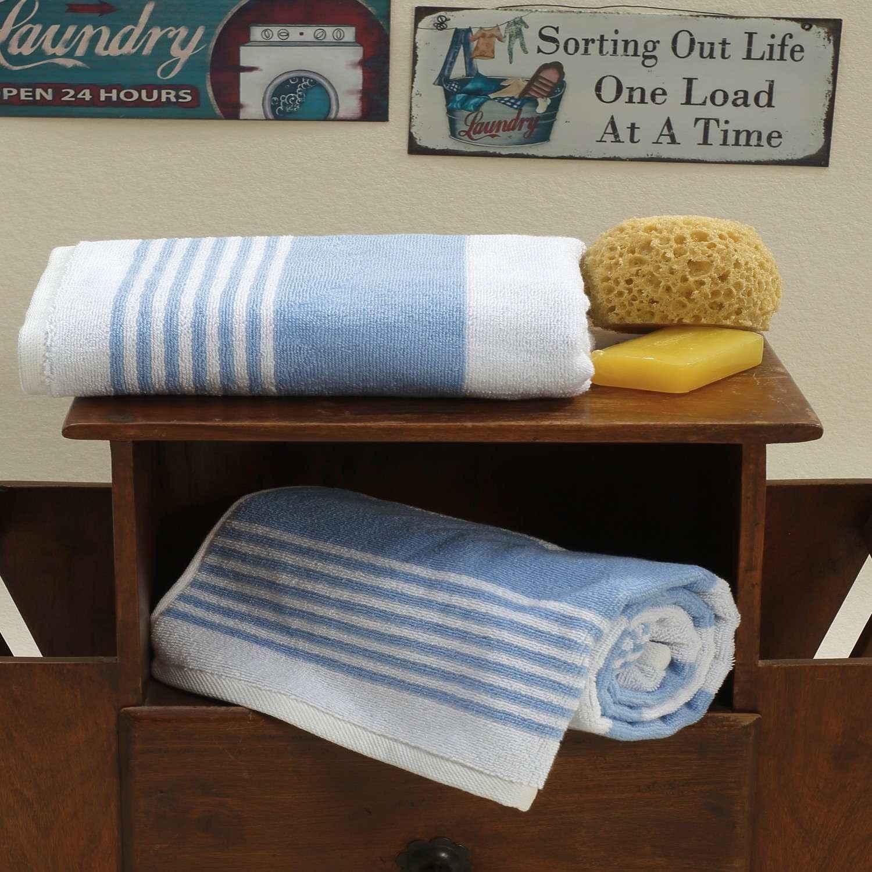 Πετσέτα Lida Blue Sb Home Προσώπου 50x100cm