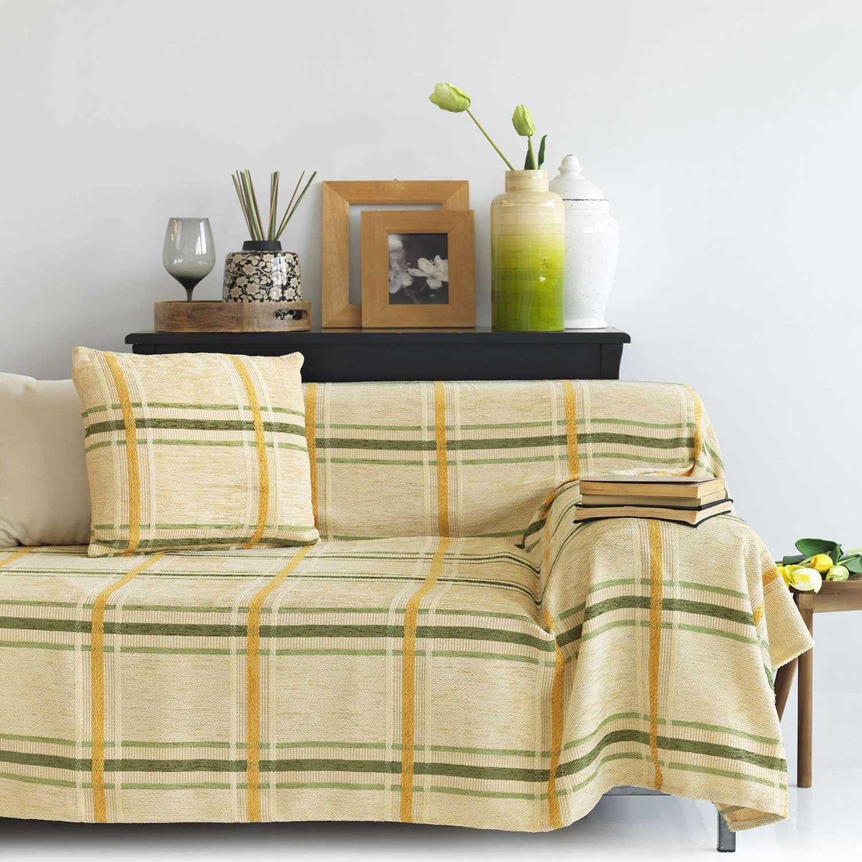 Μαξιλαροθήκη – Square Green Sb Home 45X45 100% Chenille