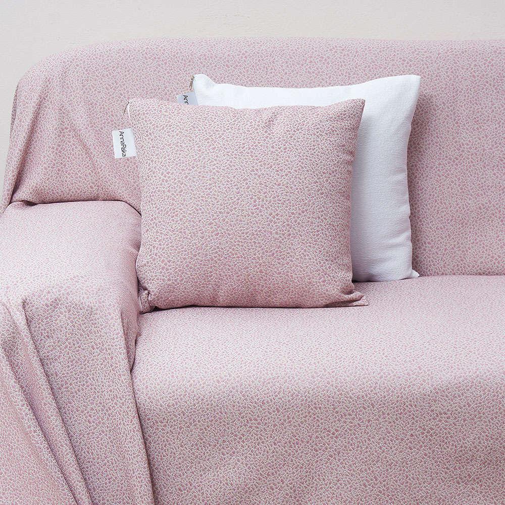 Μαξιλάρι Διακοσμητικό (Με Γέμιση) Des. 1554 Blush Pink Anna Riska 50X50 100% Βαμβάκι