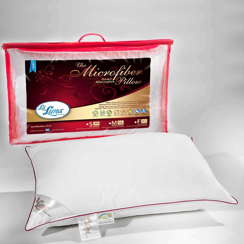 Μαξιλάρι Ύπνου Microfiber Soft La Luna 50Χ70