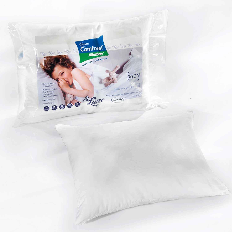 Μαξιλάρι Ύπνου Βρεφικό Microfiber Comforel Allerban La Luna