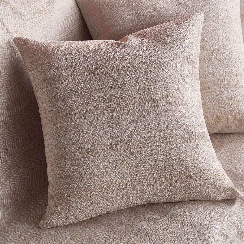 Διακοσμητική Μαξιλαροθήκη 475/05 Εκρού Gofis Home 50X50 Chenille-Polyester