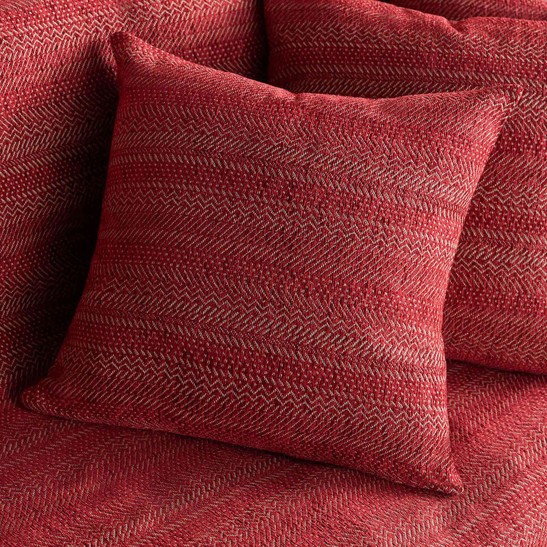 Διακοσμητική Μαξιλαροθήκη 475/02 Μπορντώ Gofis Home 50X50 Chenille-Polyester